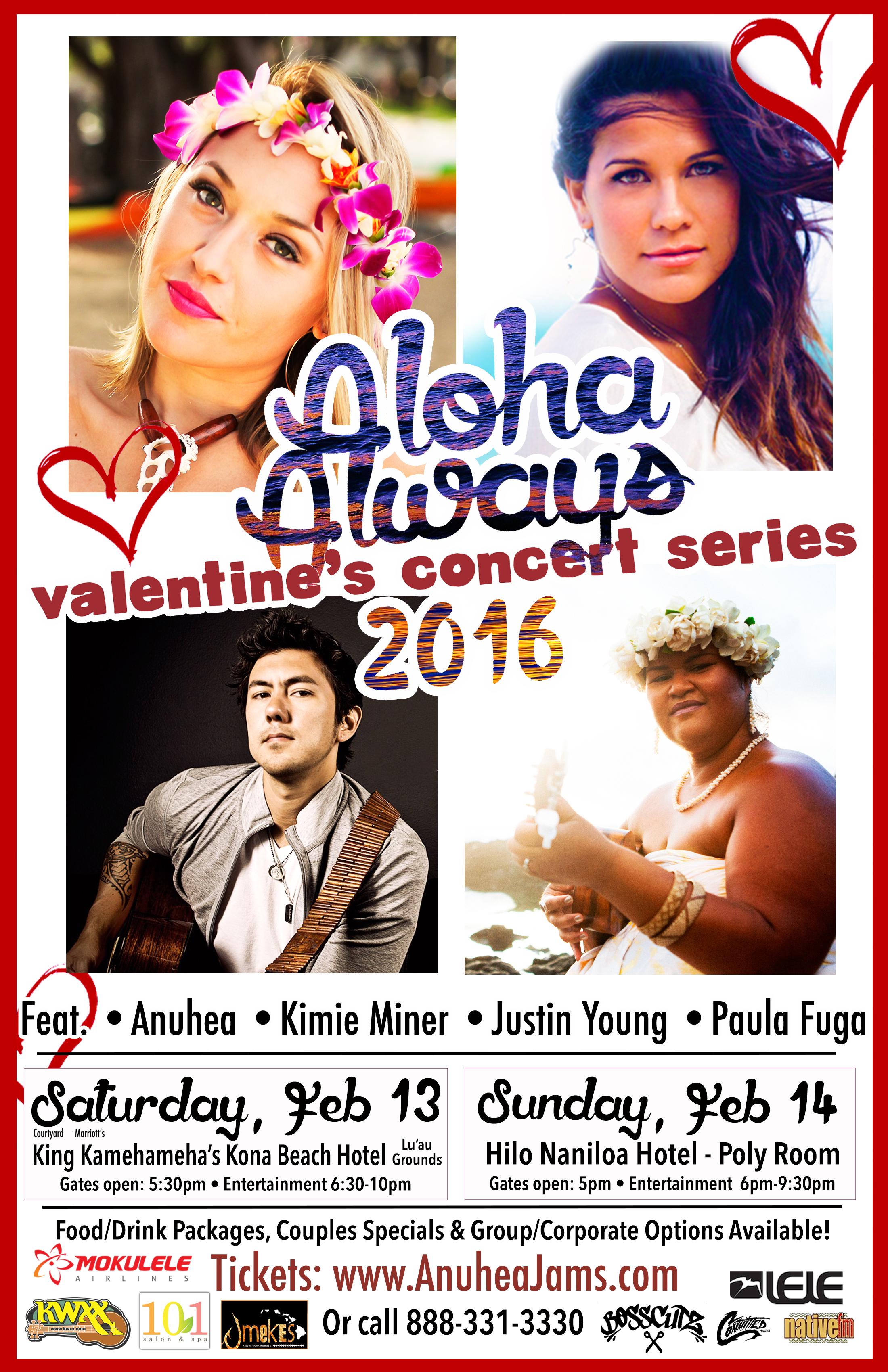 Aloha Always Concert BOTH DATES