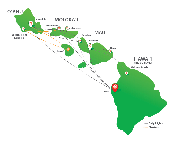 Airports In Maui Hawaii Map.Kapalua Airport Maui Mokulele Airlines