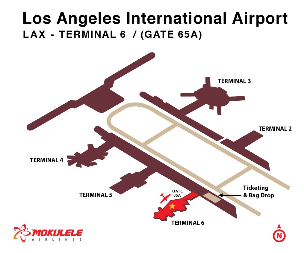 Los Angeles Airport California Mokulele Airlines - Airports in california