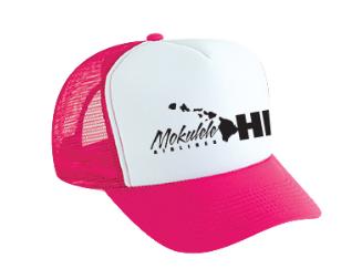 Mokulele-Pink-Logo-hat
