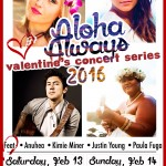 Aloha Always Concert BOTH DATES