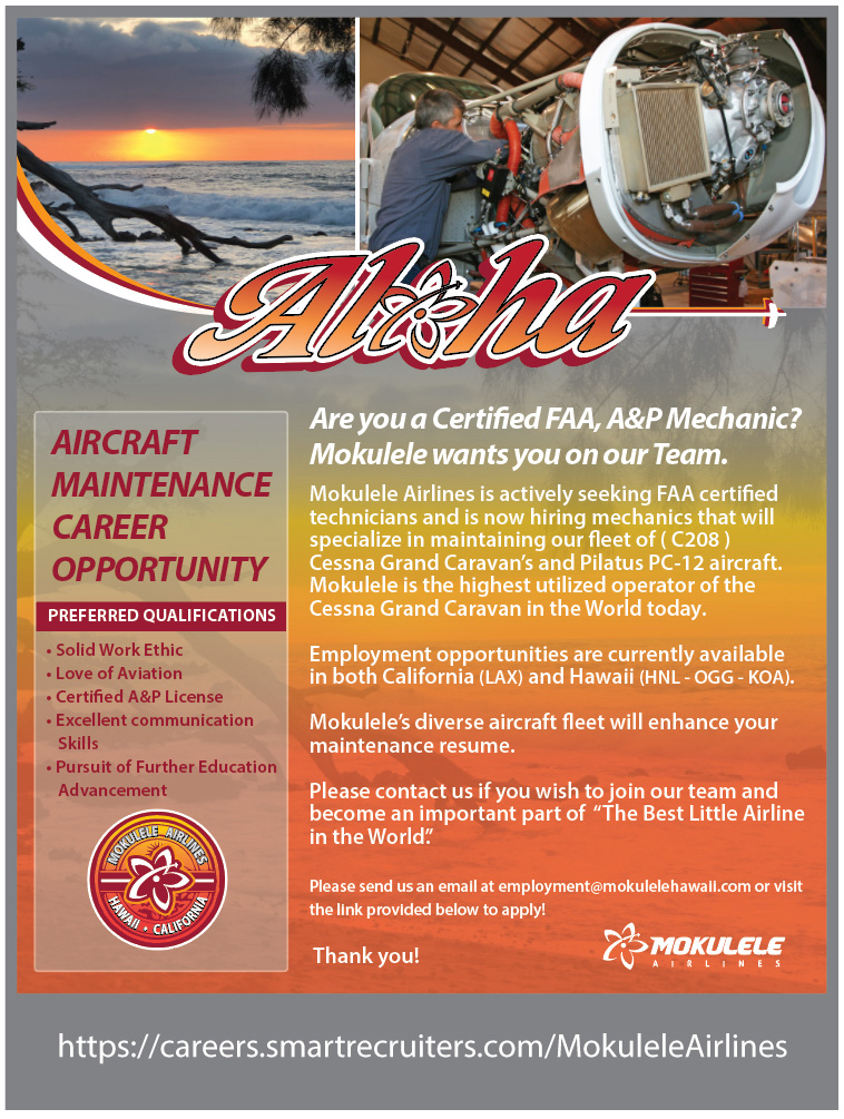 Maintenance Flyer